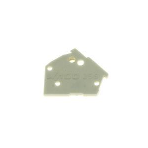 Bočnice pro svorkovnice světle šedá WAGO 256-300