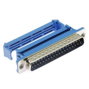 Konektor CANON samořezný 37 pinů vidlice na kabel přímá Xinya 103-37 P M B 1