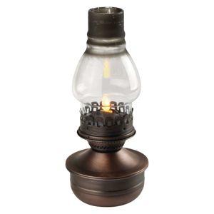 Emos LED dekorace - lucerna vintage, 3xAA, teplá bílá, časovač