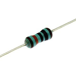 Metalizovaný rezistor 0207/0,6W 10M ohm 1% Royal Ohm MF006FF1005A50