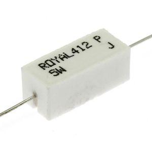 Výkonový rezistor v keramickém pouzdře 5W 4R7 ohm 5% Royal Ohm PRW05WJW47JB00