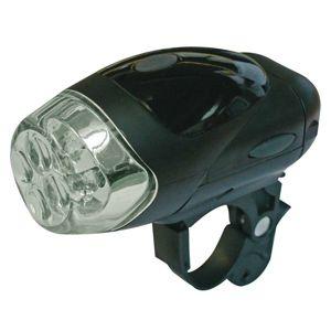 Svítilna na kolo 4x LED, na 4x AAA, přední