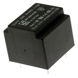 Transformátor miniaturní do DPS 0.5VA/230V 2x12V Hahn BV 202 0160