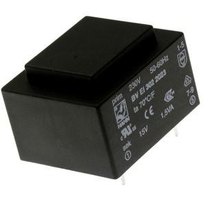 Transformátor do DPS 1.5VA/230V 1x15V Hahn BV EI 302 2023