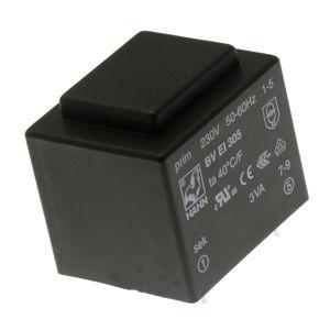 Transformátor do DPS 3VA/230V 1x15V Hahn BV EI 305 2053