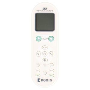 Univerzální dálkový ovladač klimatizace 1 000 v 1 König KN-RC-AIRCO3