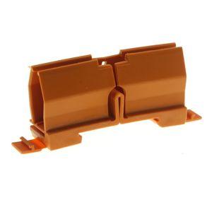 Upevňovací adaptér na DIN lištu oranžový WAGO 773-332
